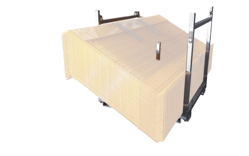 Transportställ stapelbar för 65st MK5 AntiFall räcken