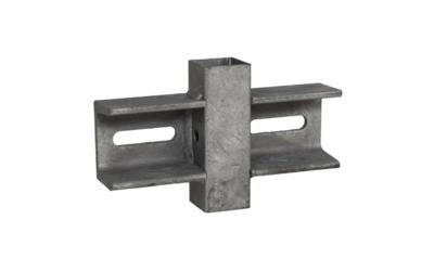 Antifall Stolpfot med balkongfäste VFZ 200x45x120mm
