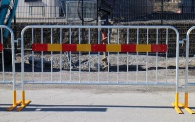 Byggstängesel | Lilla Paketet Kravallstaket – 23m | BGFIX