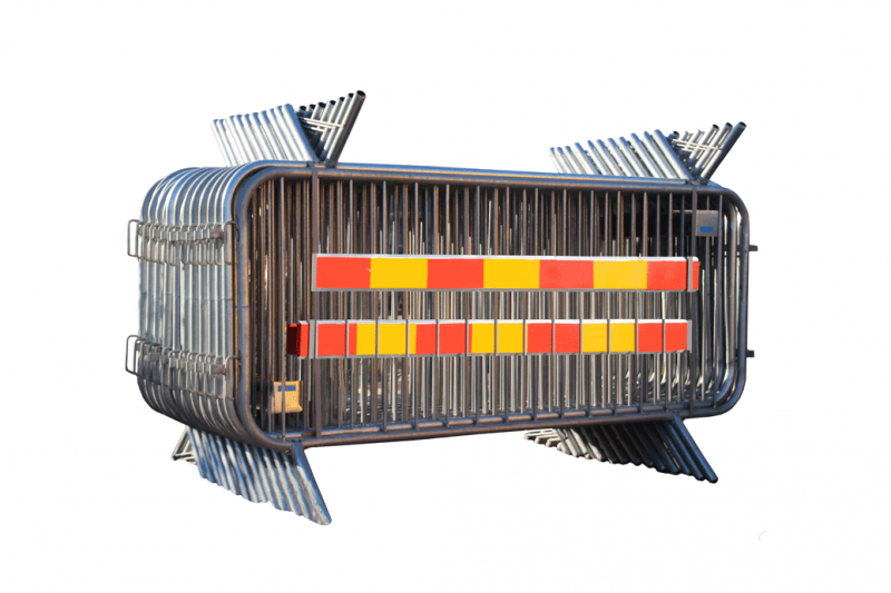 Paketerbjudande - Kravallstaket Alfa med reflex - 57,5m