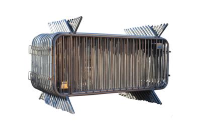 Paketerbjudande - Kravallstaket Alfa utan reflex - 57,5m