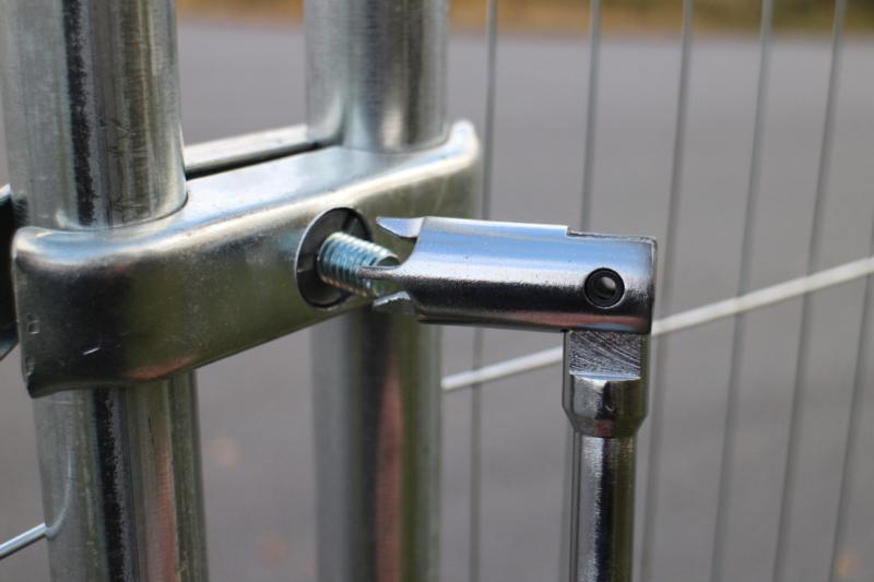 Verktyg för säkerhetskoppling till Byggstängsel