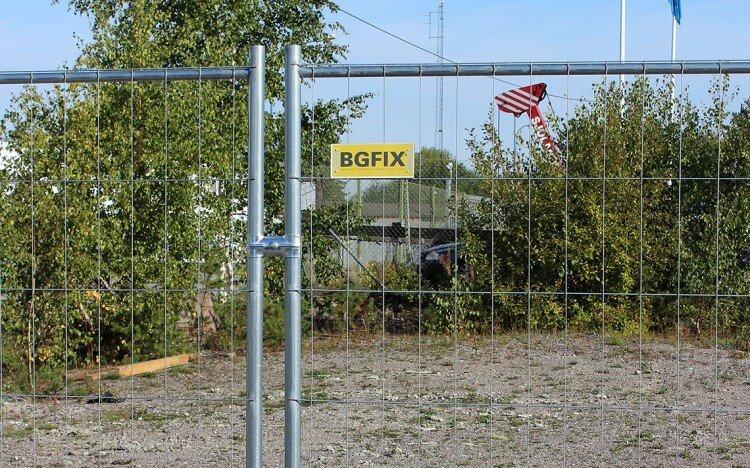 Konstruktion staket av BGFIX