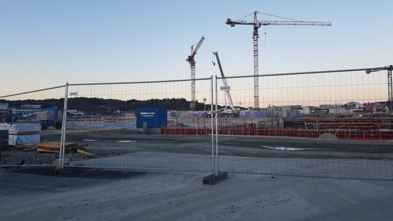 Grundläggande Byggstaket för säkerhetsåtgärder