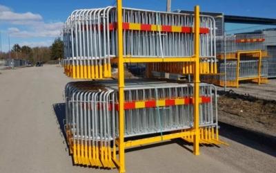 Byggstängesel | Stora Paketet Kravallstaket – 105m | BGFIX