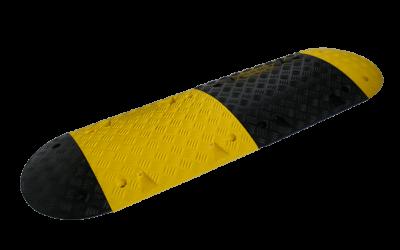 Farthinder PVC Gul/Svart 50mm
