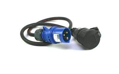 Adapter 16A med kabel