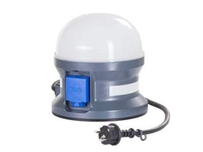 Batterilampa 230V