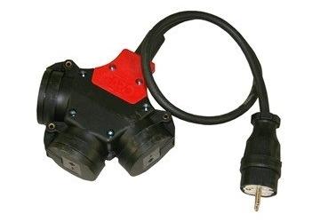 Grenuttag 16A med kabel